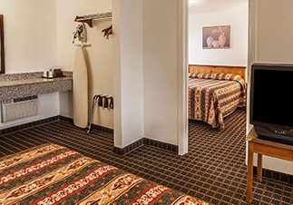 Photo of hotel suite at Rodeway Inn Albany